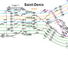 Extrait Plan voies St Denis