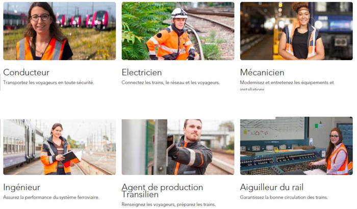 Conducteur, Electricien, Mécanicien, Ingénieur, Agent de production Transilien et Aiguilleur du rail : les 6 métiers prioritaires pour le recrutement SNCF
